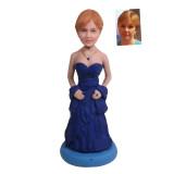Подарок женщине по фото «В вечернем платье» 20см. - фото 1