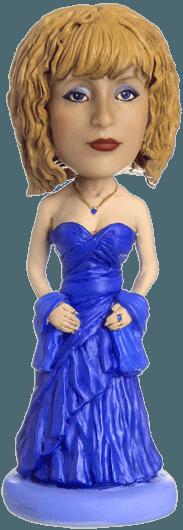 """Статуэтка по фото """"В вечернем платье"""" от 8 500 руб"""