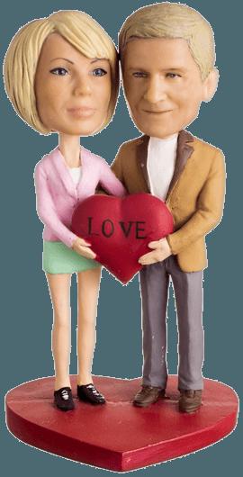 Подарок паре «Это наша любовь»