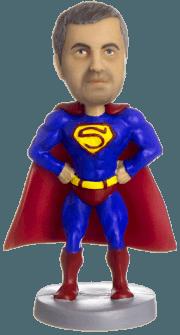 Подарок для мужчины «Супермен»и 20см. - фото 1