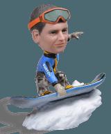 Подарок сноубордисту «Turbo Backflip and Stop» - фото 1
