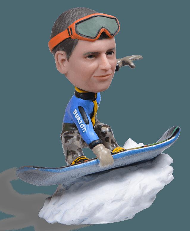Подарок сноубордисту «Turbo Backflip and Stop»
