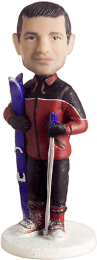 Подарок лыжнику «Лыжи — это моё всё» 20см. - фото 1