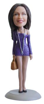 Подарок женщине «Соблазнительная модель» 20см. - фото 1