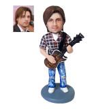 Подарок парню по фото «Рок гитарист» 20см. - фото 1