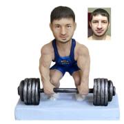 Подарок для мужчины по фото «Сила в мышцах» 20см. - фото 1