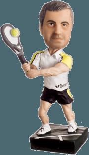 Подарок теннисисту «Золотая ракетка мира» 20см. - фото 1