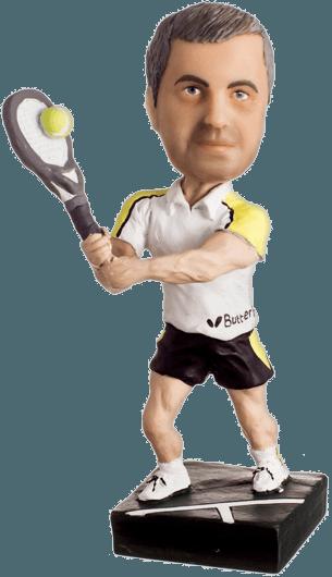 Подарок теннисисту «Золотая ракетка мира»