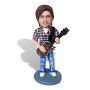 Подарок парню по фото «Рок гитарист» 20см. - фото 2