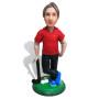 Подарок гольфисту по фото «Король 18-ой лунки» 20см. - фото 2