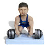 Подарок для мужчины по фото «Сила в мышцах» 20см. - фото 2