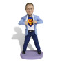 Подарок для мужчины по фото «Супермен в пиджаке» 20см. - фото 2