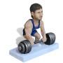 Подарок для мужчины по фото «Сила в мышцах» 20см. - фото 3