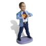 Подарок для мужчины по фото «Супермен в пиджаке» 20см. - фото 3
