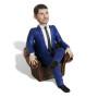 Подарок бизнесмену по фото «В кресле» 20см. - фото 3