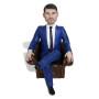 Подарок бизнесмену по фото «В кресле» 20см. - фото 2