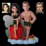 Подарок паре «Адам и Ева» 20см. - фото 1