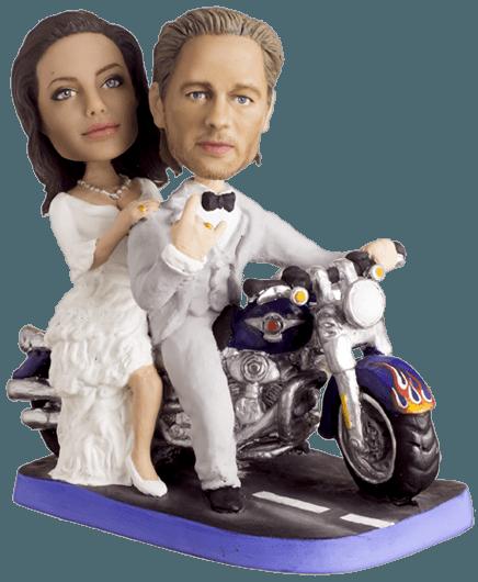 Подарок паре «Свадьба байкеров»