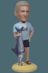 Подарок рыбаку «Лучший рыбак» 20см. - фото 1
