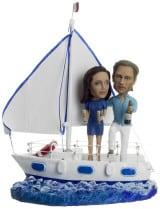 Большой подарок паре по фото«Свобода на яхте» 40 см - фото 1