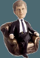 Подарок начальнику «Начальник в кресле» - фото 1
