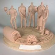 Изготовление художественных мастер-моделей для литья любой сложности - фото 1