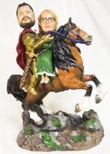 Подарок паре «Рыцарь с принцессой» - фото 1