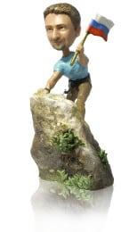 Подарок альпинисту «Вершина мира» 30см. - фото 1