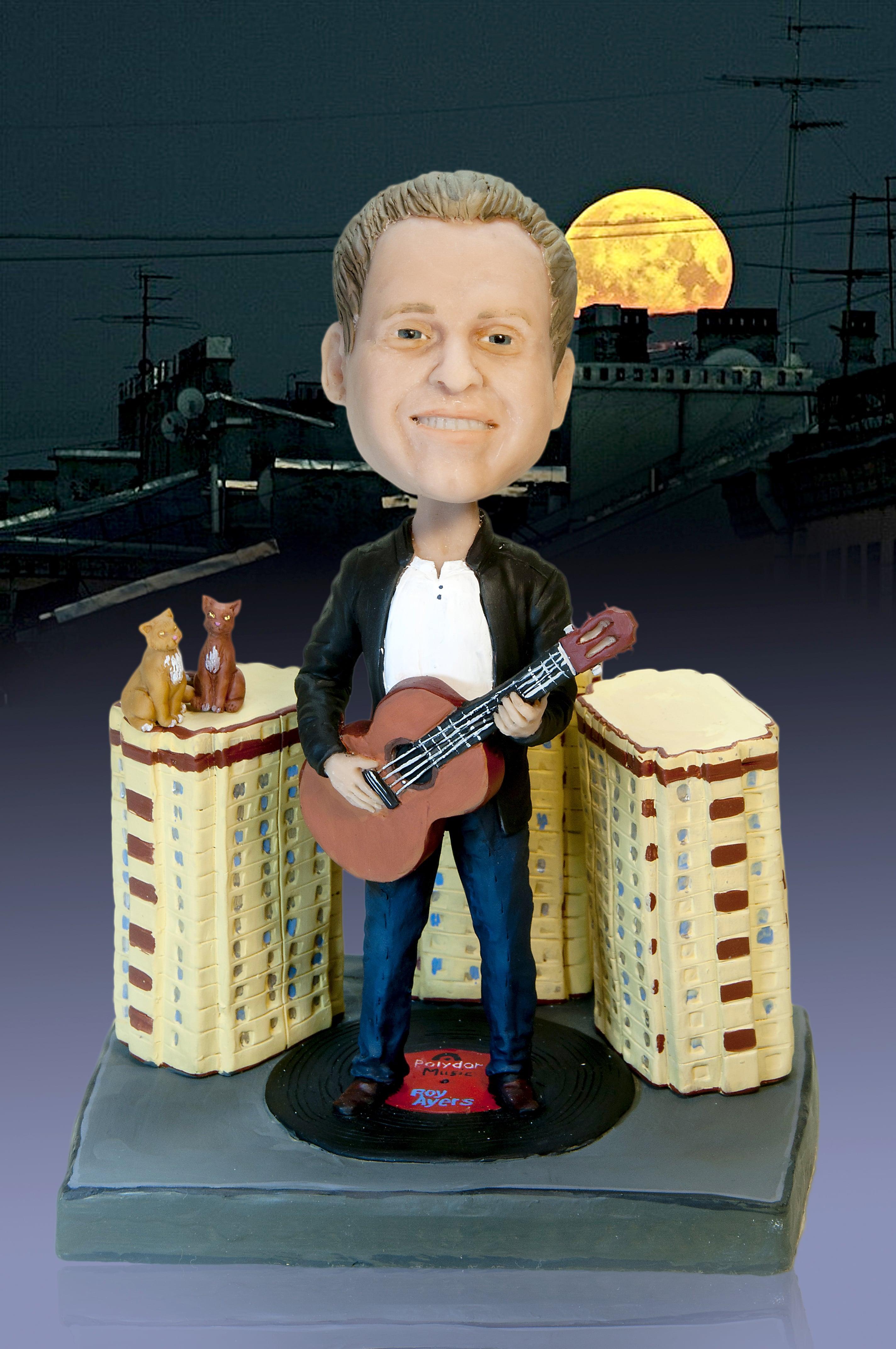 Подарок музыканту Городская звезда