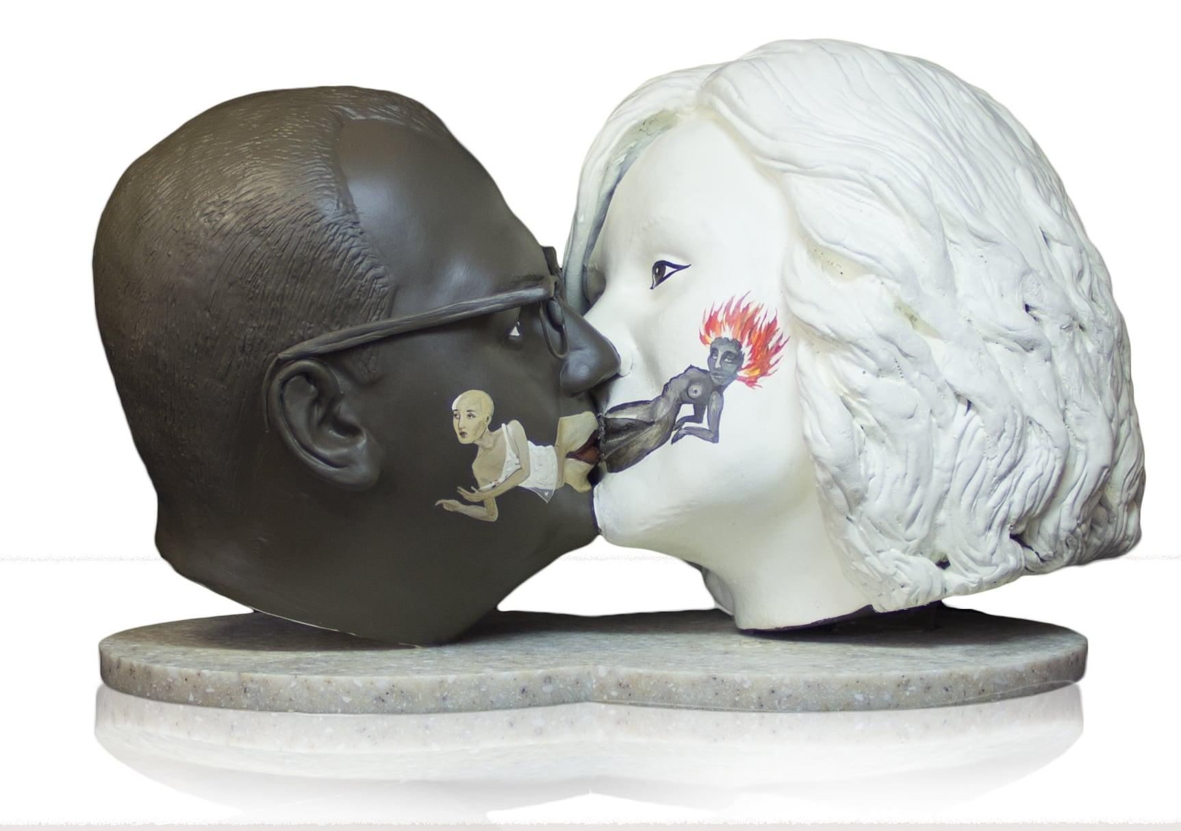 Бюст по фото Поцелуй вечности