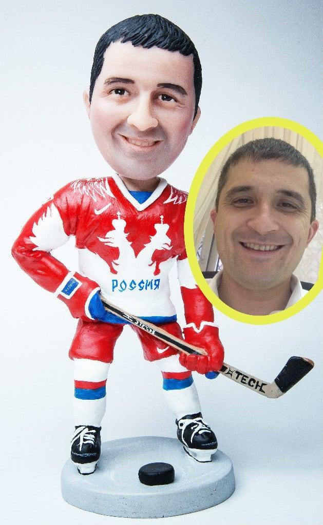 Подарок хоккеисту по фото «Лучший игрок»
