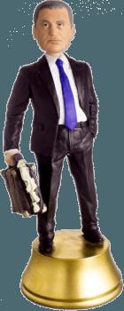Подарок банкиру «Важная личность» 30 см - фото 1