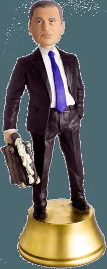 Подарок банкиру «Важная личность» 30 см