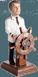 Подарок для мужчины «Наш герой на суше и на море» 30 см - фото 1