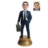 Подарок банкиру по фото «Важная личность» 30 см. - фото 1