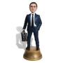 Подарок банкиру по фото «Важная личность» 30 см. - фото 2