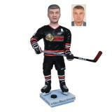 Подарок хоккеисту по фото «Главный на льду» 30см. - фото 1