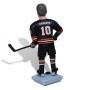 Подарок хоккеисту по фото «Главный на льду» 30см. - фото 3