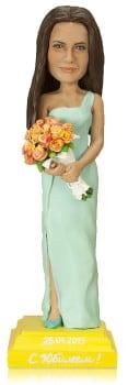 Подарок женщине «С цветами»30 см - фото 1