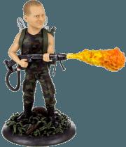 Подарок по фото мужчине «Человек-огонь» 30см - фото 1