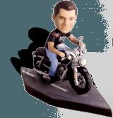 Сувенир байкеру по фото «Крутой поворот» - фото 1