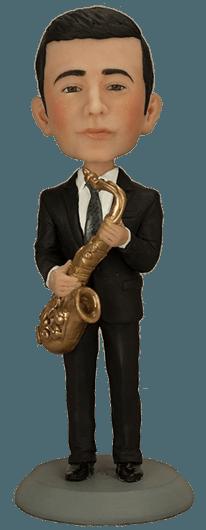 Подарок музыканту Талантливый саксофонист