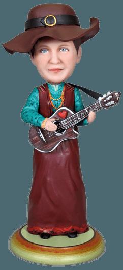Подарок гитаристке Испанская гитара