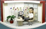 Подарок начальнику по фото «День Рождения в офисе» 25 см - фото 1