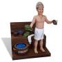Подарок банщику по фото «Любитель бани» 30 см. - фото 3