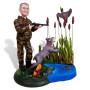 Подарок охотнику по фото «Удачная охота» 20 см. - фото 3