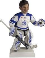 Подарок хоккеисту по фото «Хранитель ворот» 30 см - фото 1
