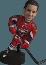 Подарок хоккеисту #5 по фото «В авангарде» 20 см - фото 1
