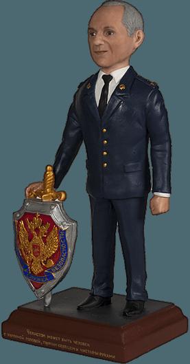 Подарок полицейскому по фото Чекист 30 см