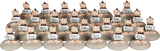 Корпоративный набор статуэток «Макаки» 10 см - фото 1